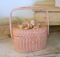Panier vintage - Basket vintage