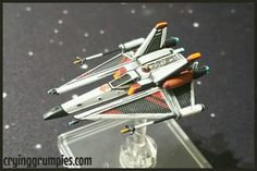 Black Sun Ugly repainted and modificate for X-wing miniature game by Darth Grumpy