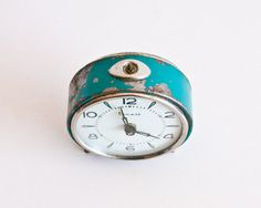 Mechanical Alarm Clock Vityaz Soviet Desk by TheThingsThatWere, $15.00
