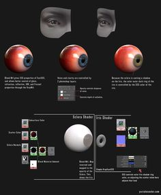 Vray Eye Shader & Eye download : portfolio http://www.yurialexander.com/tutorials/vray-eye-shader--eye-download/