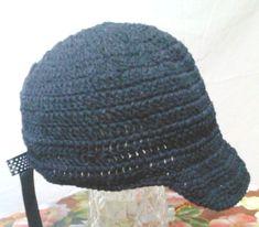 Lindos Bonés de crochê em preto, nos tamanhos P M G    EXCLUSIVIDADE MIMOS DE SILVINHA R$ 78,00