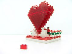 Lego Valentine 2009 #3 Lego Valentines, Table Lamp, Home Decor, Table Lamps, Decoration Home, Room Decor, Home Interior Design, Lamp Table, Home Decoration