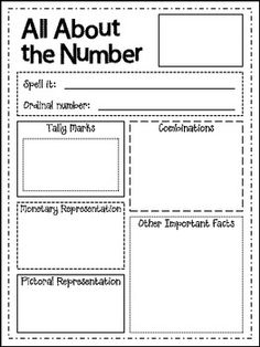 Number of the Day Poster - FREEBIE!