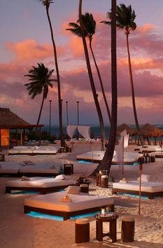 Romantic sunset beach relaxation, Paradisus Palma Real, Punta Cana Take this coupon and travels to the dominican republic #airbnb #airbnbcoupon #puntacana #dominicanrepublic