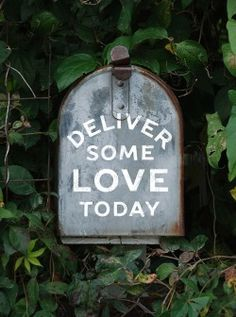 deliver some love today