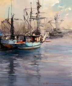 Vladislav Yeliseyev     Boats of St. Pedro CA: