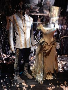 Original Into the Woods Prince Charming and Cinderella movie costumes