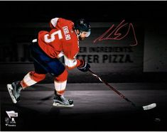 4875bb5a521 Aaron Ekblad Florida Panthers Autographed 11