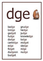 dge spelling pattern worksheet spelling word work pinterest spelling patterns. Black Bedroom Furniture Sets. Home Design Ideas