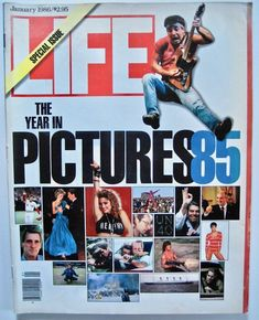 Life Magazine The Year in Pictures 1985 Special Edition