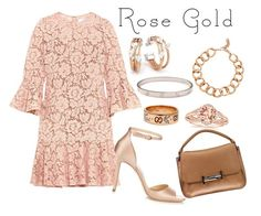 """""""Classic Rose gold"""" by ga-gs ❤ liked on Polyvore featuring Tod's, Valentino, Charriol, Vita Fede, Jimmy Choo, Gucci and Cartier"""