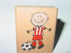 Joseph soccer rubber stamp