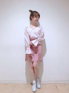【池袋店】♡パンチングスカート♡