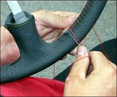 This afternoon MXS I shall be adding a doeskin steering wheel to my Wheels