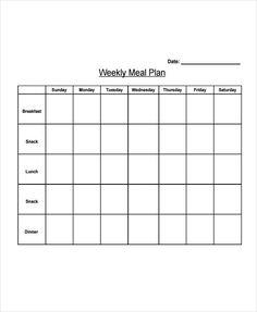 Weekly Meal Plan Template Best Of 10 Diet Plan Templates Free Sample Example format Weekly Meal Plan Template, Meal Planner Template, Meal Planner Printable, Free Meal Plans, Business Plan Template, Weekly Menu, Free Printable, Printables, Weight Loss Meal Plan