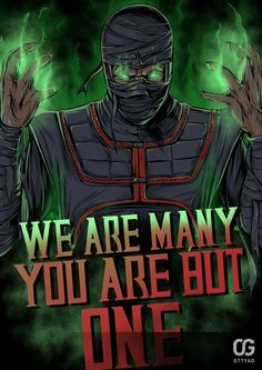 Ermac WE ARE MANY YOU ARE BUT ONE by Bakerrrr.deviantart.com on @deviantART