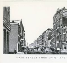 Main Street Louisvillefrom 7th St. East. :: R. G. Potter Collection
