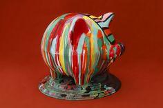 ARTE APLICADO : Claudio Baldrich Artista Plastico Table Lamp, Home Decor, Paint Wood Furniture, Painted Chairs, Painted Wood, Appliques, Artists, Art, Lamp Table