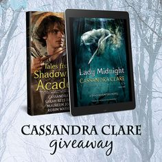 Cassandra Clare #YAlit #Giveaway