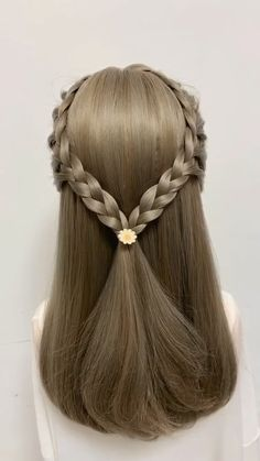 10 Gorgeous Braided Hairstyles You will Love - Latest Hairstyle Trends for Diy Abschnitt, Kids Braided Hairstyles, Creative Hairstyles, Latest Hairstyles, Diy Hairstyles, Vintage Hairstyles, Japanese Hairstyles, Korean Hairstyles, Popular Hairstyles, Summer Hairstyles