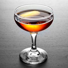 The Greenpoint is variation on the Brooklyn, which was spawned from a classic Manhattan. Created at NYC's legendary Milk & Honey, it was named after the Greenpoint neighborhood of Brooklyn and the greenish hue of the Chartreuse used to make it.