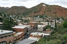 Image result for Downtown Bisbee 25 mi e. Sierra Vista AZ