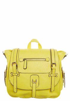 stylisher neongelber Rucksack von Essentiel Antwerp @ Zalando Premium