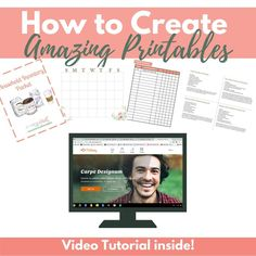 How To Create Printables | At Home With Holly