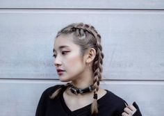"""163 Likes, 6 Comments - CHIEMI ITO (@thisisnotchiemi) on Instagram: """"At last my hair is long enough to braid it again. Braids was my to go hair style in elementary and…"""""""