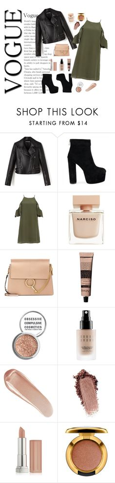 """Untitled #9"" by molldollc ❤ liked on Polyvore featuring DailyLook, Narciso Rodriguez, Chloé, Aesop, Obsessive Compulsive Cosmetics, Bobbi Brown Cosmetics, NARS Cosmetics, Maybelline and MAC Cosmetics"