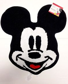 "Disney's Mickey Mouse Bath Rug 25.5"" X 27"""