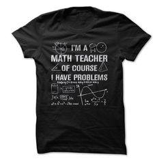 I'm A MATH TEACHER T Shirts, Hoodies. Get it now ==► https://www.sunfrog.com/Geek-Tech/IM-A-MATH-TEACHER-59031362-Guys.html?41382 $21