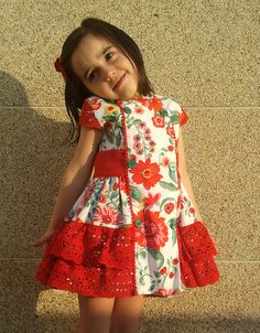 Girls Dresses Sewing, Stylish Dresses For Girls, Kids Outfits Girls, Toddler Girl Dresses, Little Girl Dresses, Toddler Outfits, Cute Dresses, Girl Outfits, Baby Girl Frocks