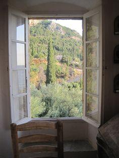 Patrick Leigh Fermor's home. Kardamyli, Greece