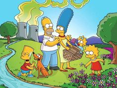 The Simpsons And Classic Movies    Simpsons fans will like it. Many shots in the cartoon replicate classic movie scenes. Someone took the time and collected.    The Simpsons is an American animated television series created by Matt Groening for the F