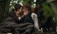 New Still of Sam Heughan as Jamie Fraser and Caitriona Balfe as Claire Fraser ♥♥♥♥ of Outlander_Starz Season 4 Drums of Autumn - posted on August 2018 Jamie Fraser, Claire Fraser, Jamie And Claire, Watch Outlander, Outlander Novel, Outlander Season 4, Outlander Gifts, Lee Byung Hun, Gentleman Jack