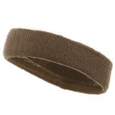Headbands (terry)-Khaki