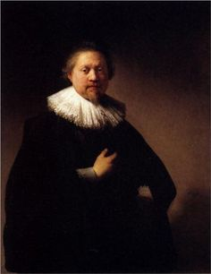 Portrait Of A Man - #Rembrandt oil  paintings make a great gift #art custom created oil reproductions by paintingstogo.com