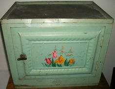 """""""Home Comfort"""" Bread and Cake Cabinet ...re-painted"""