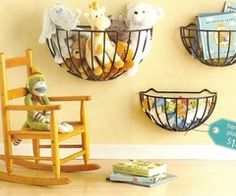 Enna & Paul • Schöne Idee: Körbe, die sonst im Garten für...