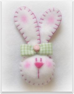 Felted Bunny.....adorable!