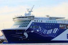 Eckerö line Finlandia. The cruise boat between Sweden and Åland Islands, Finland.