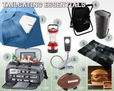 A helpful tailgate checklist for your tailgating needs. Also sharing some great tailgating products for your next event.