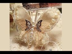 Lace Butterfly Tutorial Check out my amazing Lace Butterfly Tutorial!! You will love how easy and simple this butterfly is and you will be making them like mad!! Lol !!! Subscribe to my channel and share!!! Creative Hugs!! http://youtu.be/yisXLxCm4a8