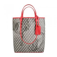 Exclusive Bags – Made in Italy Le Tote, Tote Bag, Grey And Coral, Bag Making, Louis Vuitton Damier, Totes, Italy, Handbags, Pattern