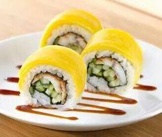 Mango and Sushi Roll