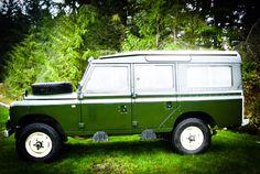 //1971 Land-Rover Series IIA 109 12-passenger Safari Station Wagon.