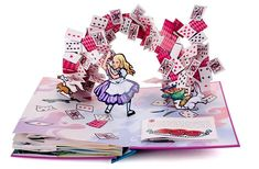Robert Sabuda's pop-up books are magical (Here: Alice's Adventures in Wonderland)