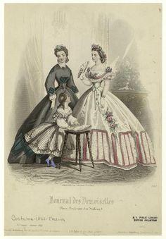Marinne | krinolíny polovice 19. storočia a karikatúry na nich.