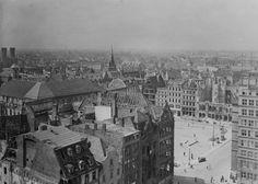 Tak wyglądał Wrocław w 1945 roku [ZDJĘCIA] - Gazetawroclawska.pl Paris Skyline, Travel, Viajes, Destinations, Traveling, Trips